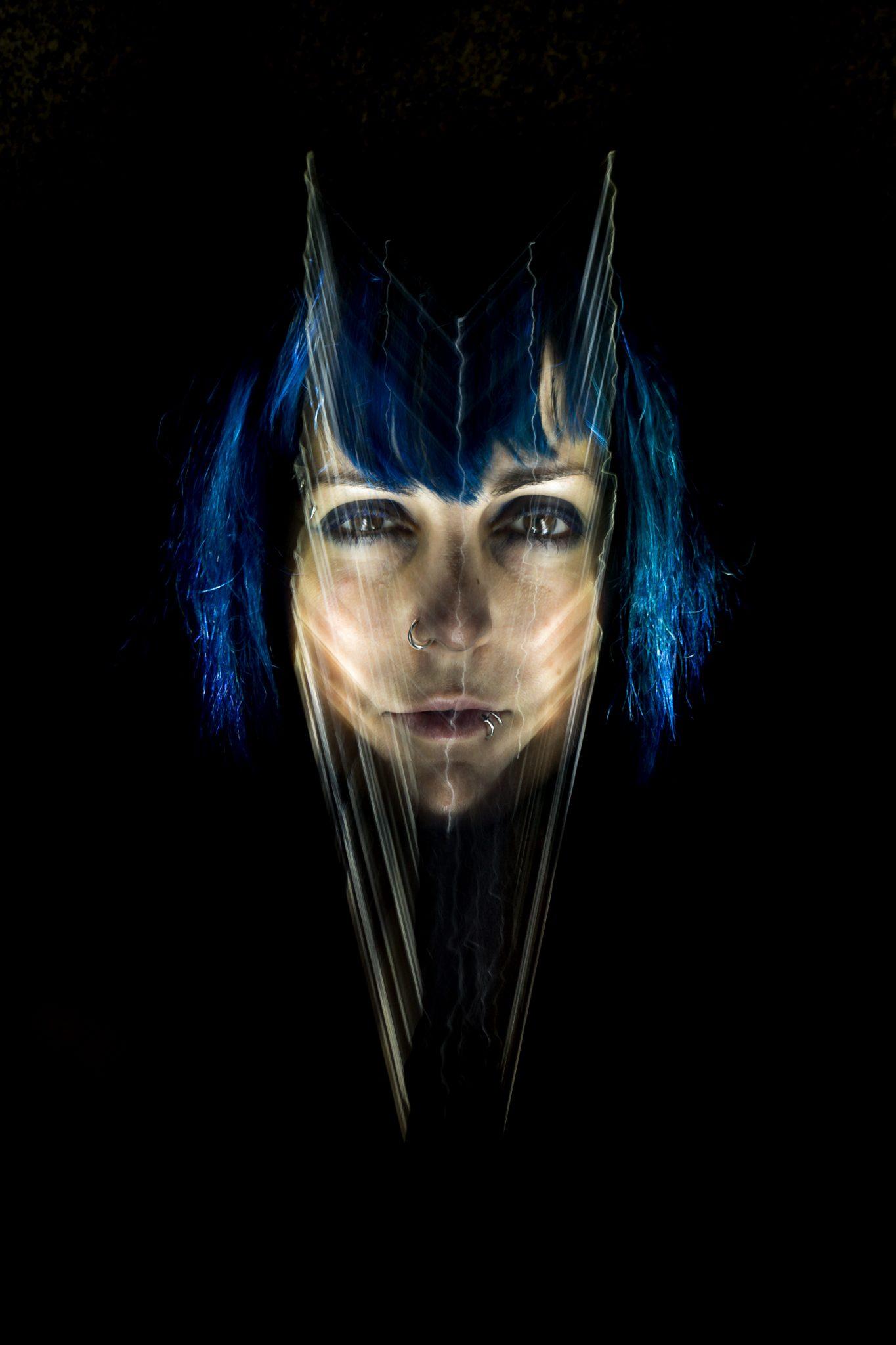 Plexiface Blue Vampire