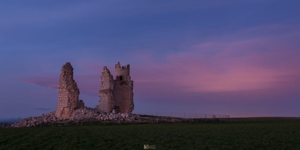 Castillo Caudilla Atardecer