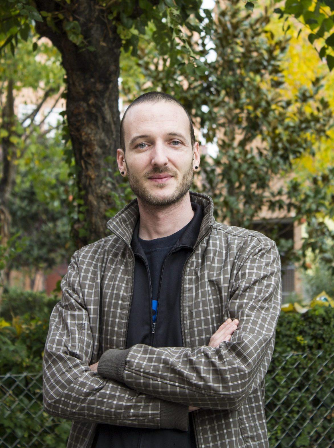 Retrato Mario Lechu por Marcos Baile