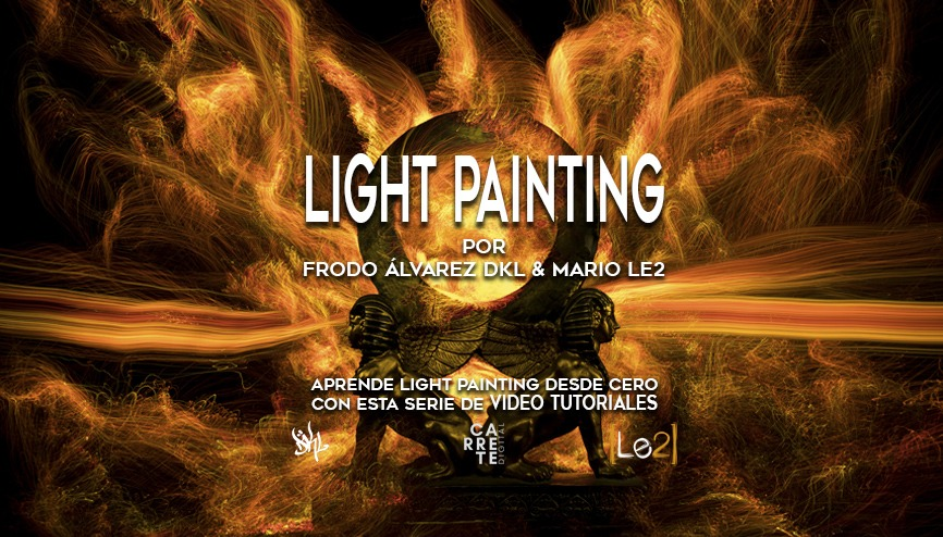 video tutoriales light painting